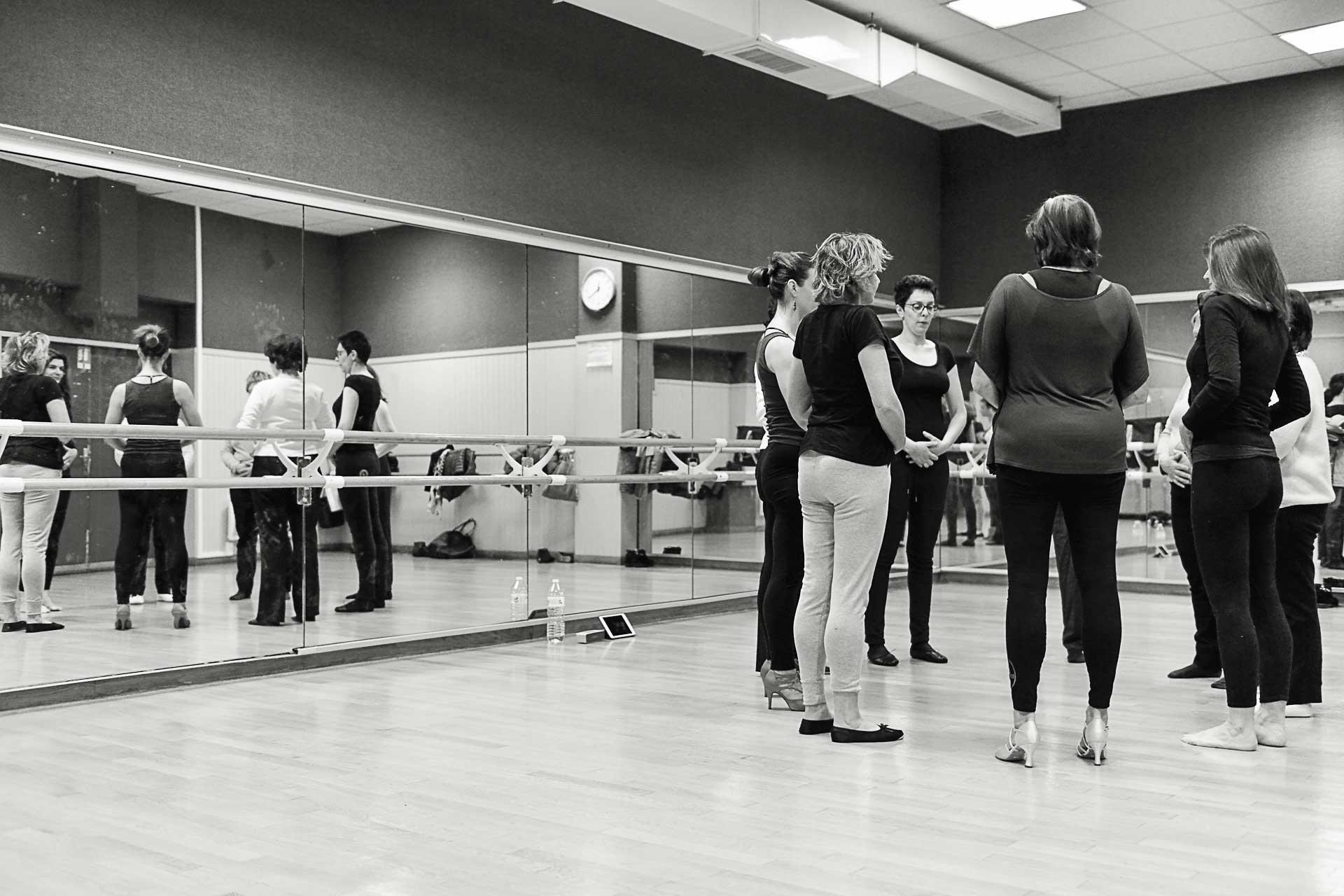 Les ateliers elles dansent au 104