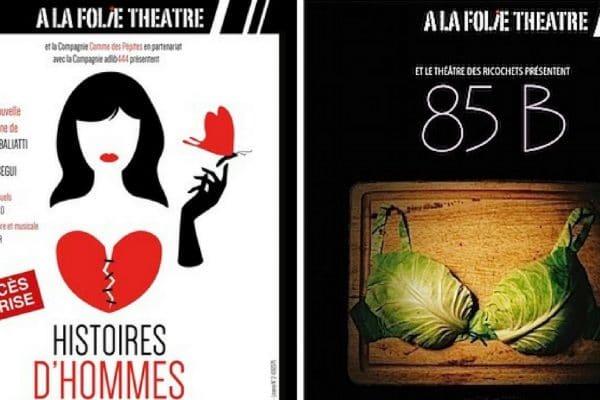 Soirée spectacle à la Folie Theatre avec Elles Dansent