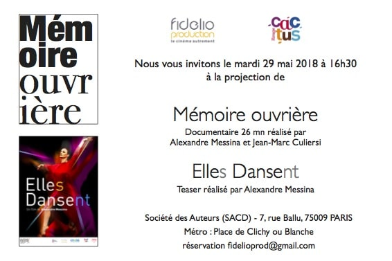RDV Cinema avec Fidelio Production