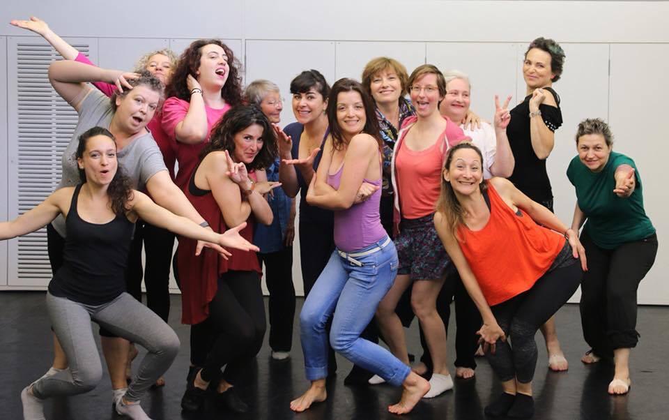 Les ateliers du 104 Elles Dansent