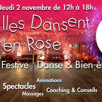 Elles dansent en rose Journée festive danse et bien-être