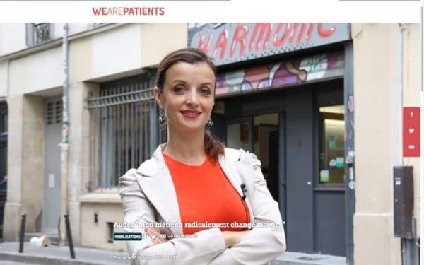 WeArePatients temoignage de Aude fondatrice Elles Dansent