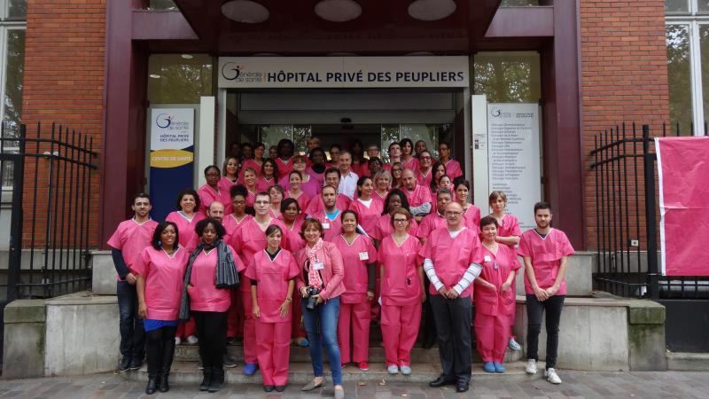 New !!! Nouveau cours à l'Hôpital Privé des Peupliers