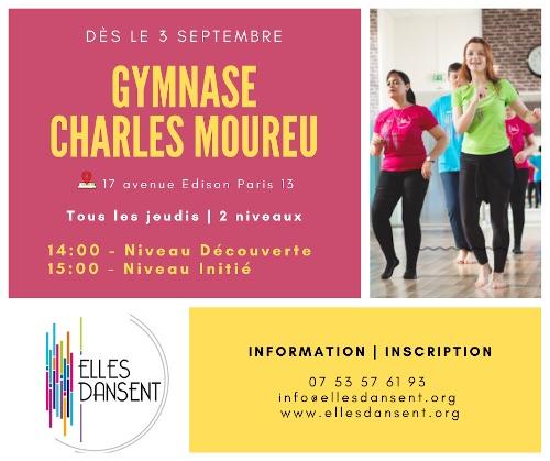 Cours Elles Dansent Gymnase Charles Moureu