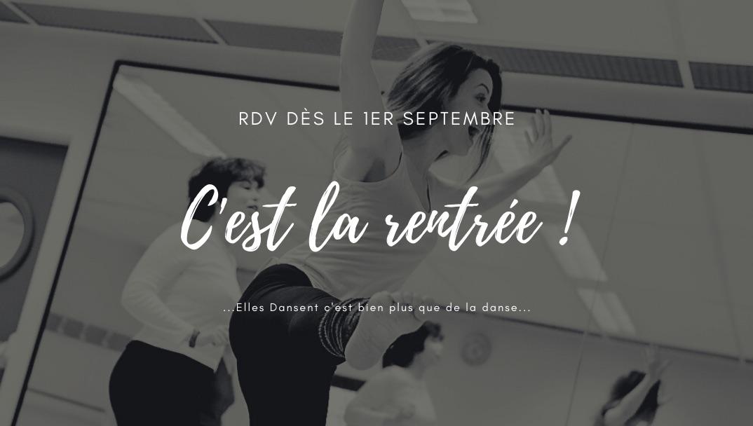 Rentrée 2020 avec Elles Dansent dès le 1 er septembre