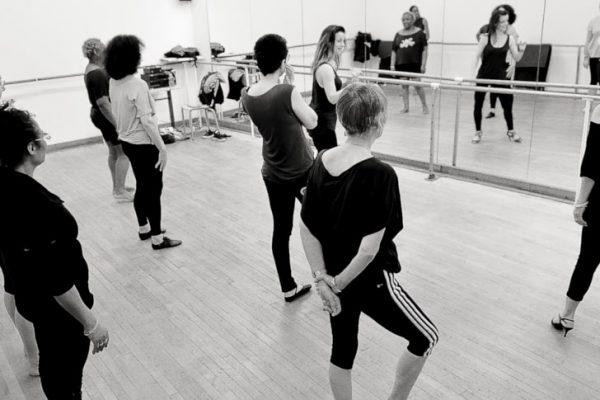 cours Elles Dansent au sein de l'association Etincelle