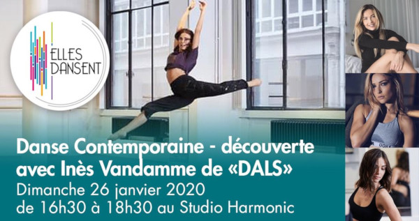 Stage avec Inès Vandamme découverte contemporain