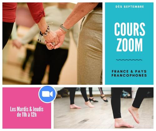 Rentrée 2021 les cours en visioconférence Elles Dansent