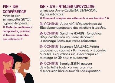 Programme portes ouvertes atelier cognacq-jay pour octobre rose